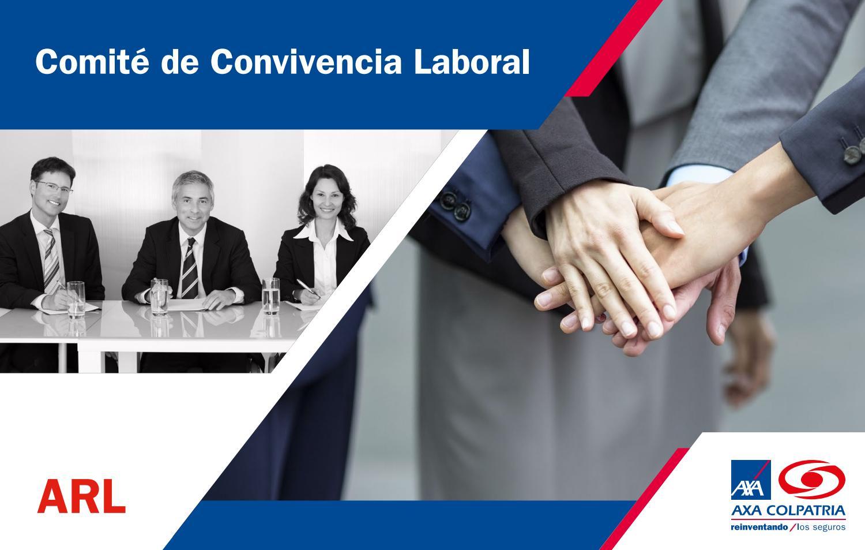 Imagen creda por AXA COLPATRIA ARL Acerca del comite de convivencia laboral
